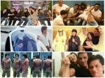 Farah Khan Posts Crazy Unseen Pics Of Shahrukh Khan Behind The Sets Of Happy New Year