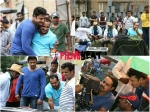 Pics Darshan On The Sets Of Jaggu Dada