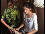 Amitabh Bachchan Granddaughter Navya Naveli To Make Her Grand Debut