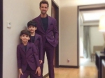Adorable Pics Of Hrithik Roshan With His Children