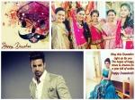 Upen Patel Devoleena Bhattacharjee Tanisha Mukherjee Rashmi Desai Wish Fans Dussehra