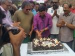 Dileep Celebrates Birthday With King Liar Team