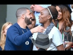 Whoa Serena Williams Pregnant With Drakes Baby Is Her Baby Bump Evident