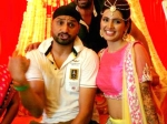 Harbhajan Singh Geeta Basra Wedding Mehendi Ceremony Pics