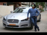 Shocker Arjun Janya Jaguar Car Seized By Police