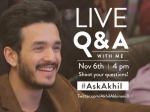 Ask Akhil Interesting Answers From Akhil Akkineni Nithin Samantha