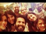 Shahid Kapoor Selfie With Mira Rajput At Shilpa Shetty Diwali Bash