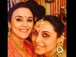 Preity Zinta Selfie With Rani Mukherjee At The Bachchans Diwali Bash