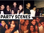 Tollywood Celebrities Late Night Party At Brahmaji House Rana Varun Rakul Regina 205290 Pg