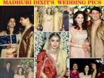 Madhuri Dixit Shriram Nene Unseen Star Studded Wedding Pics 205490 Pg