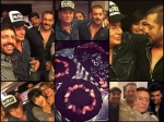 Salman Khan Celebrates Dad Salim Khan 80th Birthday With Ex Girlfriend And Celebs