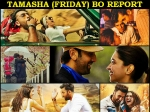 Ranbir Kapoor Tamasha First Day Opening Friday Box Office Collection Report