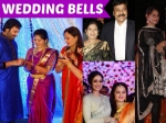 Celebrities At Jayapradas Son Reception Chiranjeevi Upasna Sridevi