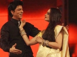 Shahrukh Khan Proposes Rekha Asks Discuss Bedroom With Gauri Filmfare