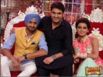 Comedy Nights With Kapil Harbhajan Singh Sing For Geeta Basra Dance