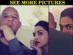 Deepika Padukone Pictures With Vin Diesel Her Hollywood Debut On Cards