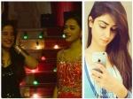 Swaragini Nikita Sharma Enters Sanjeeda Sheikh Shoot New Year Sequence