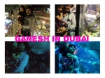 Style King Ganesh In Dubai With Daughter Charithriya