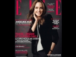 Angelina Jolie Poses Featured Elle France Cover Trying To Promote By T