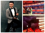 Ranveer Singh Touches Feet Of Deepika Padukone Parents After Win 2016 Filmfare Awards