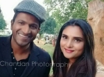 After Arasu Puneeth Rajkumar And Ramya Come Together For Bescom Ad