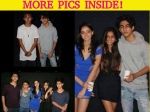 Aryan Khan Spotted With Sister Suhana Saif Son Ibrahim Latest Pics