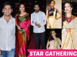 Celebrities At Pvp Daughter S Half Saree Function Mahesh Ntr Anushka