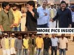 Chiranjeevi Meets Pawan Kalyan On Sets Of Sardaar Gabbar Singh