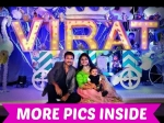 Gopichand Son Virat Birthday Celebrations Photos