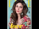 Kareena Kapoor Braces The Cover Page Of Elle Magazine February