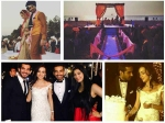 Sanaya Irani Mohit Sehgal Beach Wedding Mandap Collapse Pics