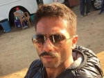 Shahid Kapoor Looks Intense With His Moustache For Rangoon