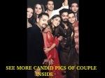 Photos Varun Dhawan Girlfriend Natasha Dalal Together Friend Wedding
