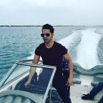 If Driving A Car To Work Is Cool Varun Dhawan Drives A Speedboat