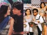 Flashback Pics Shahrukh Khan Juhi Chawla Sonali Bendre From Duplica