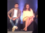 Shahid Kapoor Sonakshi Sinha Kriti At Zee Cine 2016 Press Conference