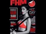 Airlift Nimrat Kaur Looking Hot Lingerie Fhm Magazine Cover