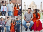 Vidya Balan Siddharth Roy Kapur Visit The Taj Mahal Photos