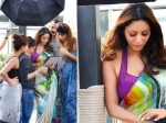 Shahrukh Khan Wife Gauri Khan Looks Mesmerising In Saree
