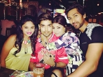 Check Out How Gurmeet Choudhary Celebrated His Birthday Pics
