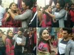 Katrina Kaif And Aditya Roy Kapoor Go Shopping On The Steets Of Delhi
