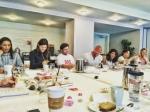 Priyanka Chopra Dwayne Johnson And Zac Efron Chilling Baywatch Team