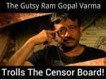 Ram Gopal Varma Shows A Womans Bottom To The Censor Board