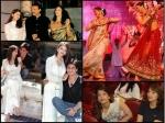 Unseen Pics Aishwarya Rai Bachchan With Srk Madhuri Dixit Devdas Days