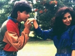 Rare Pics Shahrukh Khan And Urmila Matondkar From Chamatkar In