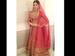 Kriti Sanon Dressed As A Bride Pics In Hyderabad Fashion Show