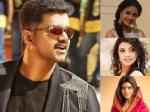Ilayathalapathy Vijay To Romance Three Heroines In Vijay