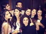 Aamir Ali Sanjeeda Wedding Anniversary Mouni Karishma Jennifer Pics