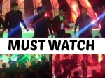 Video Gang Leader Chiranjeevi Dancing With Megaheroes Srija Sangeet