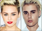 Miley Cyrus Posts Photoshopped Image Of Justin Bieber And Herself